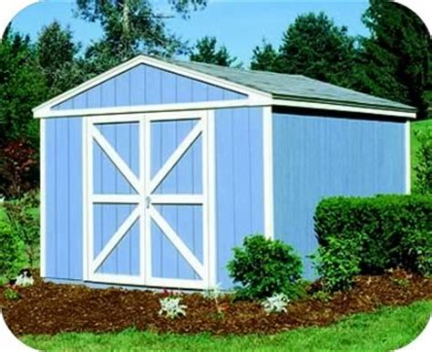Storage Shed 10x10 by Handy Home Somerset 10x10 Wood Storage Shed W Floor 18413 0