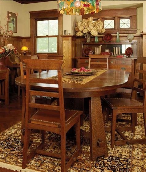 Arts And Crafts Dining Room Furniture Arts And Crafts Furniture From Classic To Contemporary Homes
