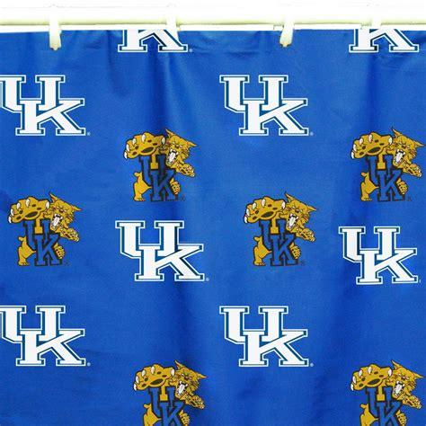 university of kentucky shower curtain shop college covers kentucky cotton kentucky wildcats