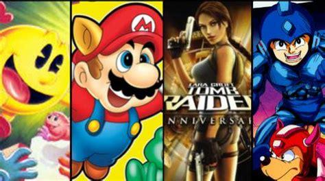 imagenes de los videos juegos los 10 personajes m 225 s recordados de los videojuegos
