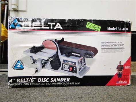 delta     belt  disc sander brand