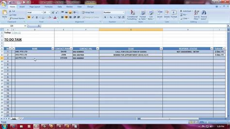 45 tasks template excel excel to do list for project managers free