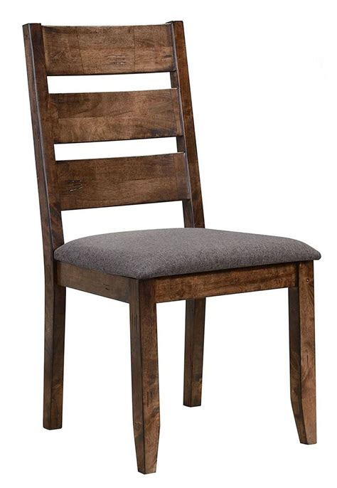Dining Chair Set Of 2 Alston Knotty Nutmeg Dining Chair Set Of 2 From Coaster 106382 Coleman Furniture