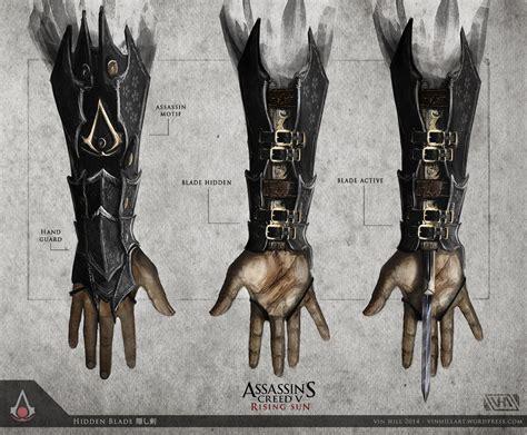 Assasin Creed Blade Ezio assassin s creed 5 rising sun blade by