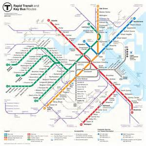 Mbta Boston Map mbta gt about the mbta
