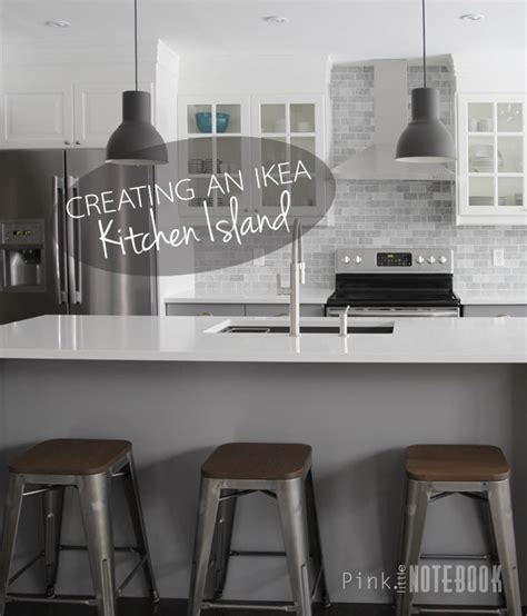 ikea islands kitchen creating an ikea kitchen island pink notebookpink notebook