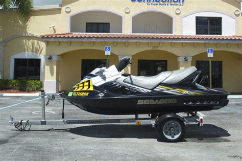 boat trailer parts west palm beach used 2008 sea doo rxt 215 boat for sale in west palm beach