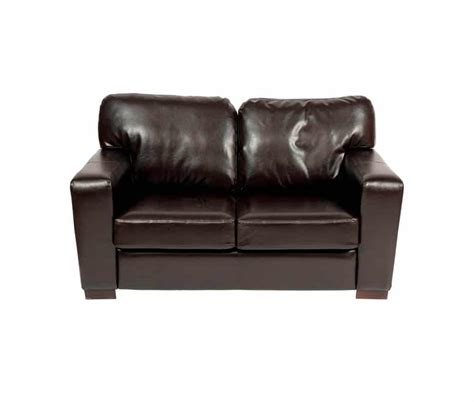 small faux leather sofa small 2 seater sofa with chunky square arms made from faux