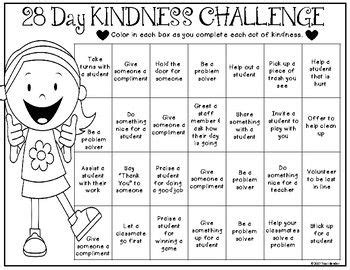 28 random acts of kindness today marks the start of random acts of kindness week and