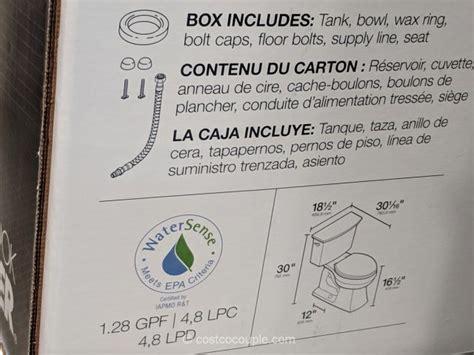 kohler  piece lintelle complete toilet kit