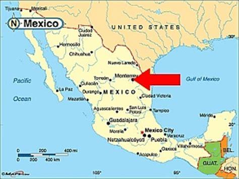 map of monterrey mexico la academia 7 mexico