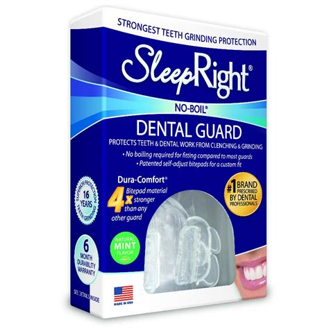 Sleepright Dura Comfort Dental Night Guard Whiter Smile