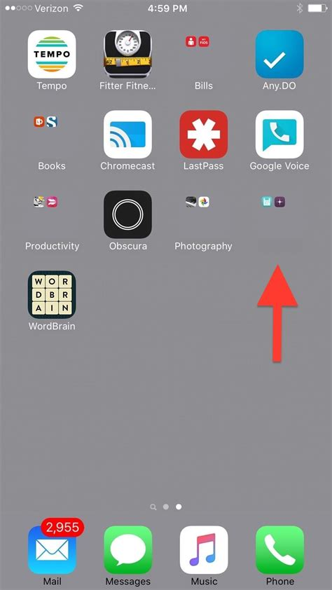 designing your first iphone app hack design how to create invisible folders for all your secret iphone