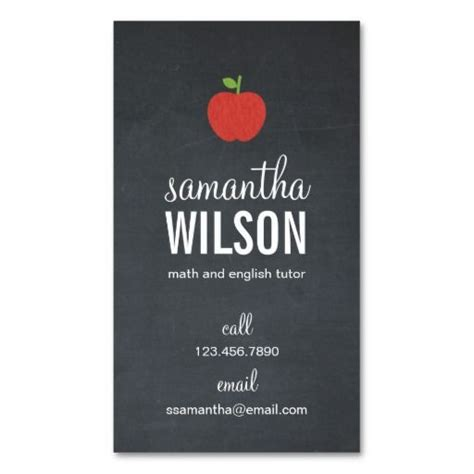 best 25 teacher business cards ideas only on pinterest