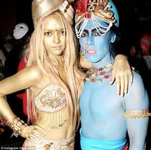 gemma ward channels indian goddess lakshmi in halloween