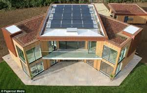 buy solar panels for house for sale the uk s first solar powered home that means you ll never get utility bills again but