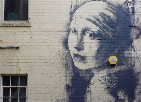 banksy  woman top  rumours myths  truths