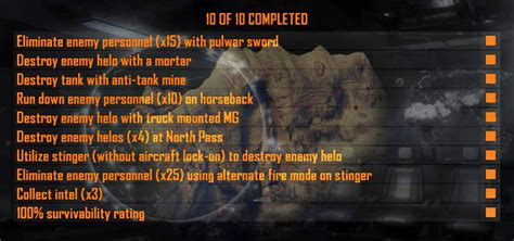 black ops 2 caign challenges mission 03 wounds missions challenges call of