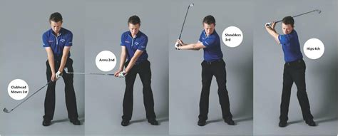 hips first golf swing backswing start downswing start swingstation