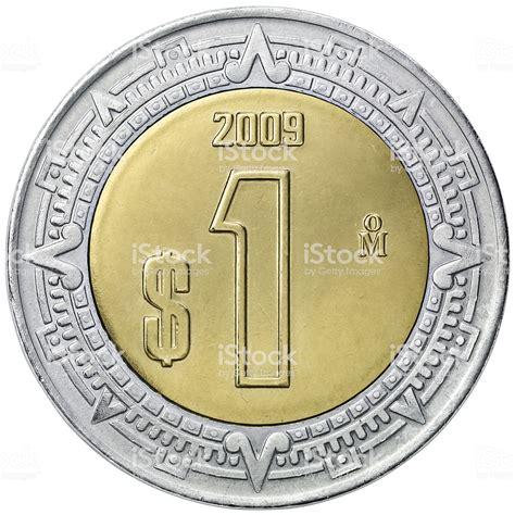 piso mexicano obverse de la moneda de un peso mexicano fotograf 237 a de