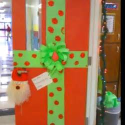 christmas classroom door decor or bulletin board wrapped