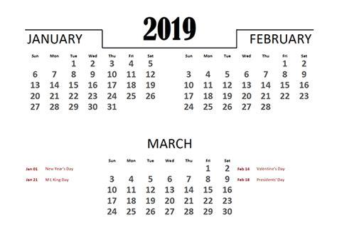 excel quarterly calendar template  printable templates