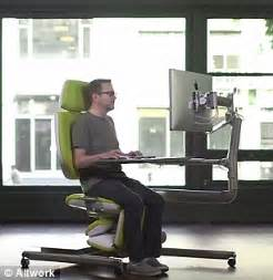 sit stand lay desk altwork station lets you sit stand and even lie