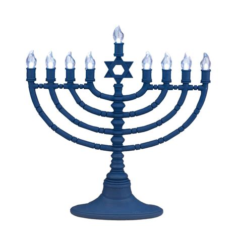 jewish gifts hanukkah menorah battery powered menorah