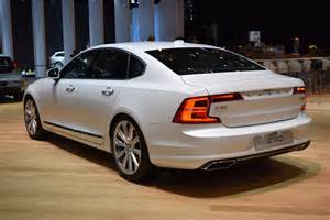 Volvo S New Volvo S90 Sedan Looking Sharp On Geneva Show Floors