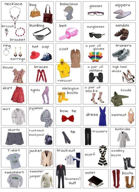 imagenes de ropa en ingles y español bellas 20 prendas de vestir en ingles para aprender