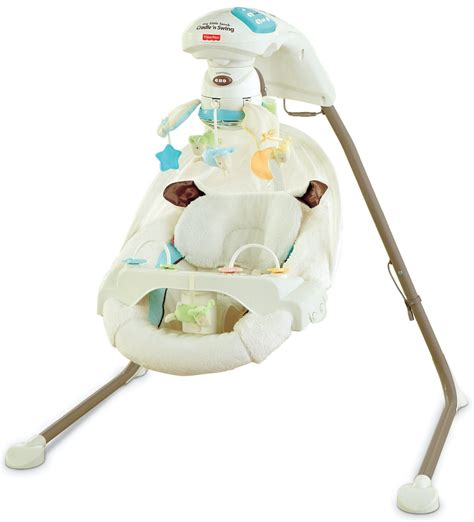 fisher price swing and cradle fisher price my little lamb cradle n swing questions