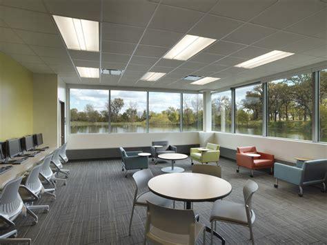 tutorial center design holabird root waubonsee plano classroom building