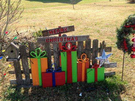 12 days of christmas metal yard art yard from recycled wood