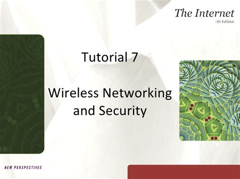 tutorial video networking tutorial 7 wireless networking and security