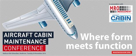 Aircraft Cabin Maintenance by Aircraft Cabin Maintenance Conference Where Form Meets