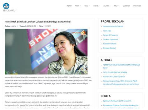 Source Code Website Profil Sekolah Dengan Php Mysql source code website sekolah dengan bootstrap php