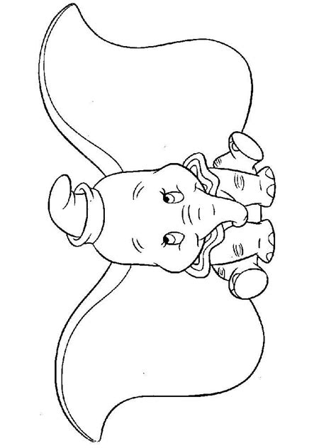 Dumbo coloring pages. Download and print Dumbo coloring pages