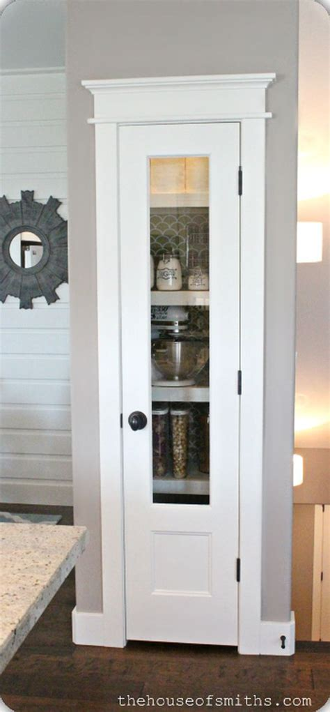 pantry glass doors 25 best ideas about small kitchen pantry on