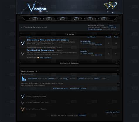 list theme vb net voodoo designs vb theme by el3ment4l on deviantart