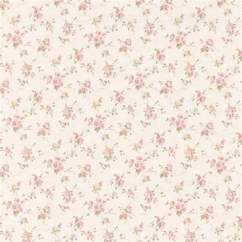 Art Decor For Home by 413 66301 Pink Floral Trail Genevieve Brewster Wallpaper