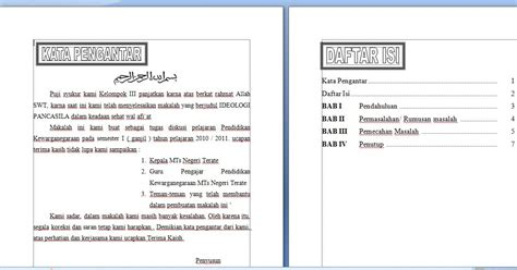 contoh makalah layout kantor contoh makalah sederhana pkn kelas viii graphic design