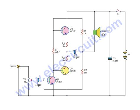 Power Lifier Linear transistor lifier schematic get free image about