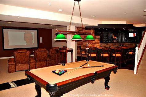 pool table home bar