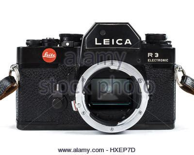 vintage leica r3 electronic 35mm slr film camera with