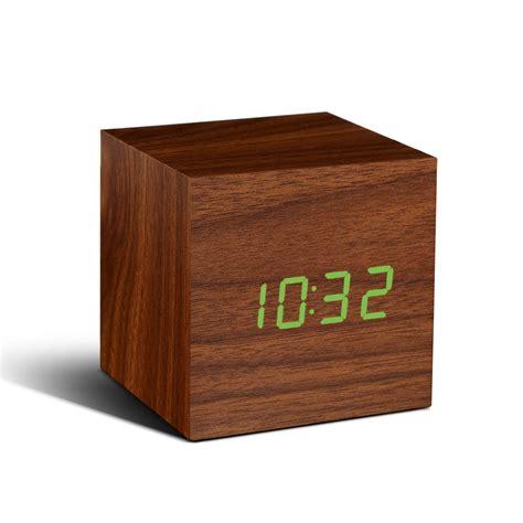 design radiowecker gingko cube sound sensor design wecker uhr berlin deluxe