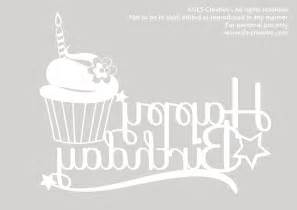 paper cutting templates free happy birthday sls creative free paper cut template
