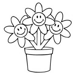flower pot coloring page flower pot colouring pages clipart best clipart best