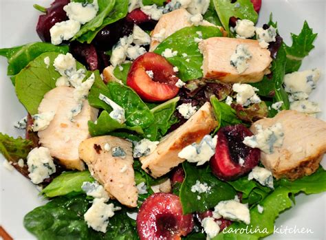 my carolina kitchen baby greens with fresh cherries - Carolina Kitchen Greens Recipe