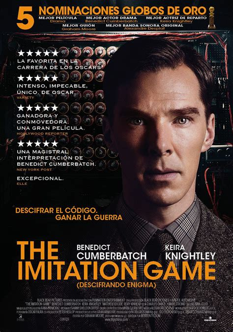 film enigma benedict the imitation game descifrando enigma pel 237 cula 2014