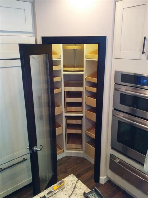 How To Build A Corner Pantry by Spectacular The Corner Pantry Baltimore With Rev A Shelf 2